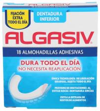 Almohadilla Inferior Adhesiva Algasiv 18 Und.