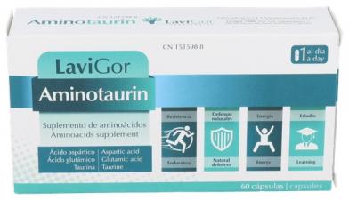 Aminotaurin 60 Caps - Lavigor