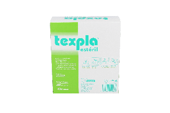 Aposito Texpla 10 X 10 Cm 8 Sobres De 5 U Esteril