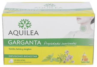 Aquilea Garganta 20 Bolsitas Infusión.