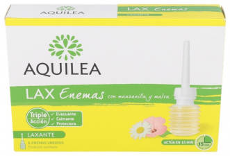 Aquilea Lax Enemas 6 Unidosis - Aquilea-Uriach