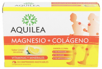 Magnesio Colageno Aquilea 30 Comp - Aquilea Uriach