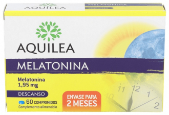 Aquilea Melatonina 1.95 Mg 60 Comp - Aquilea-Uriach