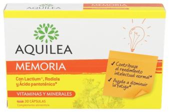 Aquilea Memorix Estudio 30 Capsulas - Aquilea-Uriach