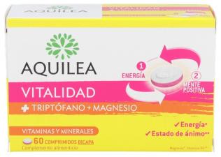 Aquilea Vitalidad Triptofano + Magnesio 60 Comprimidos