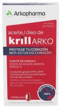 Arko Aceite Krill 15 Capsulas