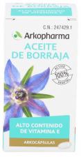 Arkocápsulas Aceite de Borraja 50 Cáspsulas