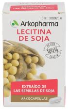Arkocápsulas Lecitina De Soja 100 Cápsulas
