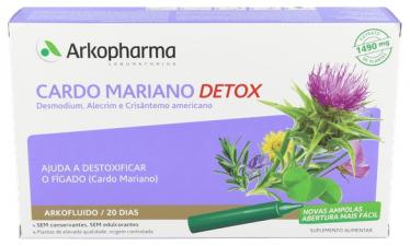 Arkopharma Cardo Mariano 20 Ampollas - Farmacia Ribera