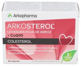 Arkosterol Levadura Arroz Coq10 60 Cápsulas