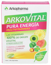 Akovital Pura Energia 30 Comprimidos - Arkopharma