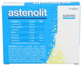 Astenolit 12 Sobres Granulado 3 G - Nycomed