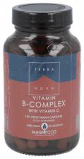 B-Comprimidoslex con Vitamina C 100 Cápsulas - Terranova