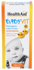Babyvit Gotas 25 ml - Health Aid