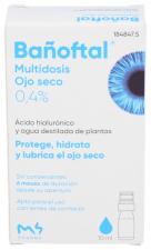 Bañoftal Multidosis Ojo Seco 0,4% 10 Ml - Farmacia Ribera