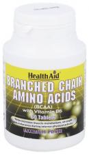 BCAA (Aminoácidos ramificados) 60 Comprimidos - Health Aid