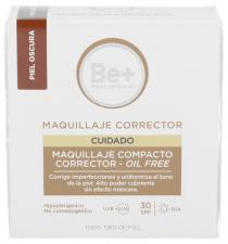 Be+ Maquillaje Compacto Corrector Spf30 Oil Free Piel Oscura - Farmacia Ribera