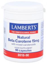 Beta Caroteno 15Mg 90 Capsulas Lamberts