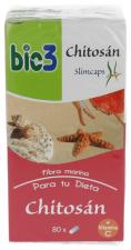 Bie3 Chitosan 500 Mg 80 Cápsulas - Varios