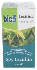 Bie3 Lecitina De Soja 500 Mg 80 Cápsulas - Farmacia Ribera