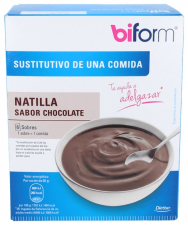 Biform Natillas Chocolate 6Sbrs - Dietisa