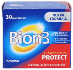 Bion Protect Adultos 60 Comp - Merck