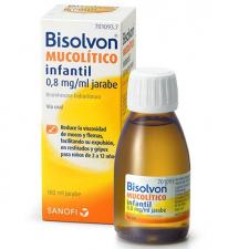 Bisolvon Mucolítico Infantil 0,8 mgml jarabe Tos productiva