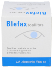 Blefax Toallitas Unidosis 20 Sobres 2,5 Ml Solución - Laboratorios Viñas