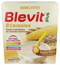 Blevit Plus 8 Cereales Superfibra 700Gr. - Varios