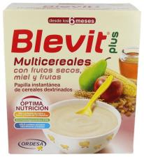 Blevit Plus Multicereales Miel Frutos Secos Y Fr - Varios