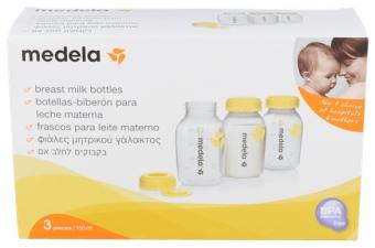 Botellas Biberon Medela 3 Un - Farmacia Ribera