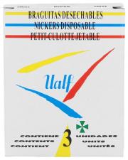 Braga Desechable Ualf T- Med 3 U - Varios