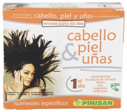 Cabello, Piel, Uñas 40 Cápsulas - Farmacia Ribera