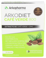 Cafe Verde 800 Arkocaps 30 Cápsulas