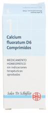 Calcium Fluoratum Nº1 D6 80 Comp Dhu
