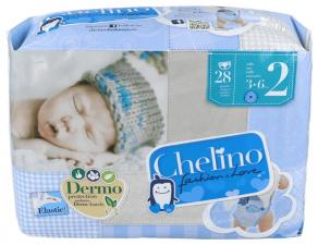 Chelino Fashion & Love Pañal Infantil T-2 - Varios