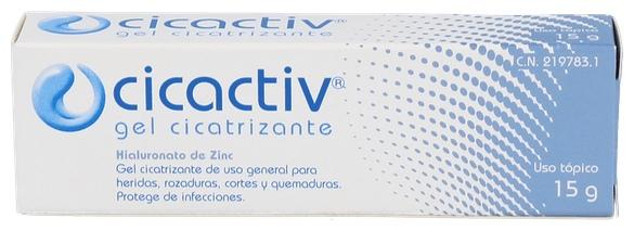 Cicactiv Gel Cicatrizante 15 G - Varios