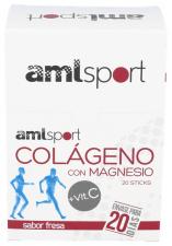 Colágeno + Magnesio Amlsport + Vitamina C