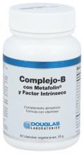 Complejo-B con Metafo|in y Factor intrlnseco 60 oapsulas vegetarianas - Douglas