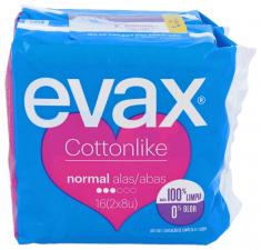 Compresa Evax Cotton Alas 16 - Varios