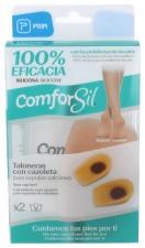Conforsil Silicona Talonera Con Cazoleta Para Espolon Talla 34-37 2U - Farmacia Ribera