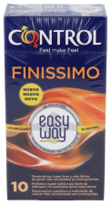 Control Finissimo Easy Way 10 Unidades - Farmacia Ribera