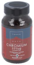 Cromo 200 ?g Comprimidoslex 50 Cápsulas - Terranova