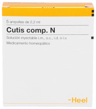 Cutis compositum N 5 ampollas 2,2 ml