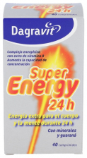 Dagravit Super Energy 24 H 40 Comp - Vemedia Pharma Hispania