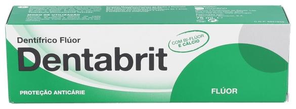Dentabrit Fluor Pasta Dental 75 Ml
