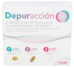 Depuraccion Plan 14 Dias 14Comp.+150 Ml.+14 Sbrs. - Eladiet