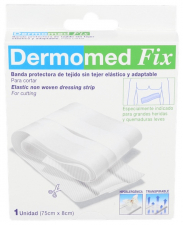 Dermomed-Fix Tiras Adhesivas Esteril 75Cmx8Cm - Dispafarm