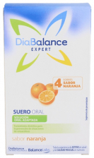 Diabalance Expert Suero Oral 4 Sobres Naranja