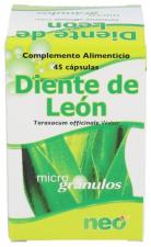 Diente De León De 474 Mg 45 Cápsulas - Farmacia Ribera